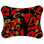 Red artistic design Jigsaw Puzzle Photo Stand (Bow)
