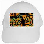 Abstract animal print White Cap