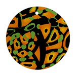 Abstract animal print Ornament (Round)