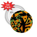 Abstract animal print 2.25  Buttons (100 pack)