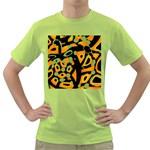 Abstract animal print Green T-Shirt