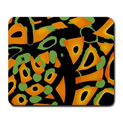 Abstract Animal Print Large Mousepads by Valentinaart