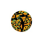Abstract animal print Golf Ball Marker (4 pack)