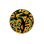 Abstract animal print Hat Clip Ball Marker (4 pack)