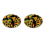 Abstract animal print Cufflinks (Oval)