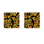 Abstract animal print Cufflinks (Square)
