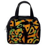 Abstract animal print Classic Handbags (One Side)