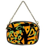 Abstract animal print Chain Purses (One Side)
