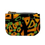 Abstract animal print Mini Coin Purses