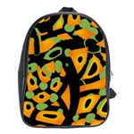 Abstract animal print School Bags(Large)