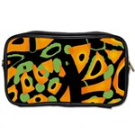 Abstract animal print Toiletries Bags 2-Side