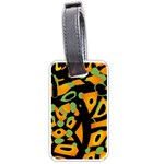 Abstract animal print Luggage Tags (One Side)