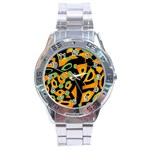 Abstract animal print Stainless Steel Analogue Watch