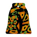 Abstract animal print Bell Ornament (2 Sides)