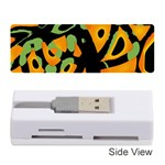 Abstract animal print Memory Card Reader (Stick)