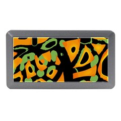 Abstract Animal Print Memory Card Reader (mini) by Valentinaart