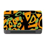 Abstract animal print Memory Card Reader with CF