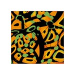 Abstract animal print Acrylic Tangram Puzzle (4  x 4 )