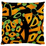 Abstract animal print Large Cushion Case (One Side)