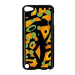 Abstract animal print Apple iPod Touch 5 Case (Black)
