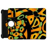 Abstract animal print Kindle Fire HD Flip 360 Case
