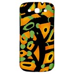 Abstract animal print Samsung Galaxy S3 S III Classic Hardshell Back Case