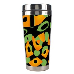 Abstract Animal Print Stainless Steel Travel Tumblers by Valentinaart
