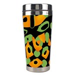 Abstract animal print Stainless Steel Travel Tumblers