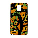 Abstract animal print Samsung Galaxy Note 4 Hardshell Case