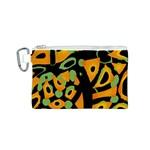 Abstract animal print Canvas Cosmetic Bag (S)