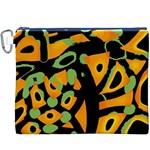 Abstract animal print Canvas Cosmetic Bag (XXXL)