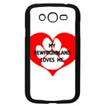 My Newfie Loves Me Samsung Galaxy Grand DUOS I9082 Case (Black)