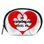 My Newfie Loves Me Accessory Pouches (Medium)