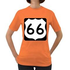 U S  Route 66 Women s Dark T Shirt by abbeyz71