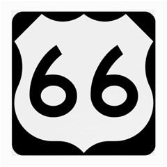 U S  Route 66 Medium Glasses Cloth by abbeyz71