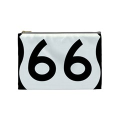 U S  Route 66 Cosmetic Bag (medium)  by abbeyz71
