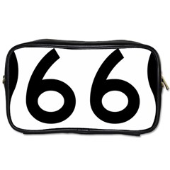 U S  Route 66 Toiletries Bags by abbeyz71