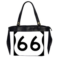 U S  Route 66 Office Handbags (2 Sides)  by abbeyz71