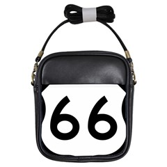 U S  Route 66 Girls Sling Bags by abbeyz71