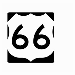 U S  Route 66 Small Garden Flag (two Sides) by abbeyz71