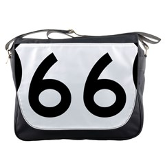 U S  Route 66 Messenger Bags by abbeyz71