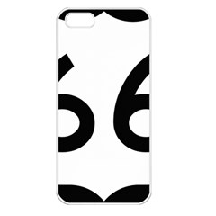 U S  Route 66 Apple Iphone 5 Seamless Case (white) by abbeyz71