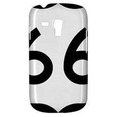 U S  Route 66 Samsung Galaxy S3 Mini I8190 Hardshell Case by abbeyz71