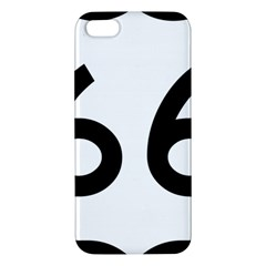 U S  Route 66 Apple Iphone 5 Premium Hardshell Case by abbeyz71