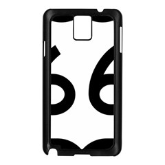 U S  Route 66 Samsung Galaxy Note 3 N9005 Case (black) by abbeyz71