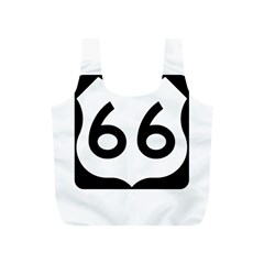 U S  Route 66 Full Print Recycle Bags (s)  by abbeyz71