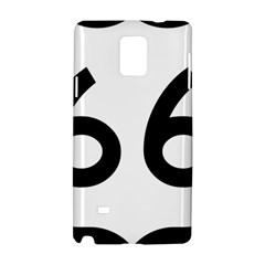 U S  Route 66 Samsung Galaxy Note 4 Hardshell Case by abbeyz71