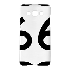 U S  Route 66 Samsung Galaxy A5 Hardshell Case  by abbeyz71