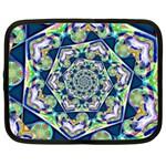 Power Spiral Polygon Blue Green White Netbook Case (XXL)