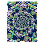 Power Spiral Polygon Blue Green White Apple iPad 3/4 Hardshell Case (Compatible with Smart Cover)